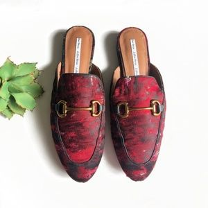☀️SALE  & Other Stories Red Loafer Mules 41